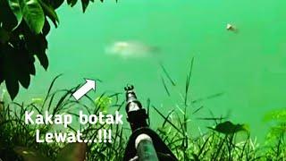 getlinkyoutube.com-Nembak Ikan Kakap 12 Kg di Sungai Ketiwon Tegal. Senin 12 September 2016