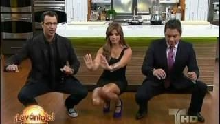 getlinkyoutube.com-Rashel Diaz dancing in mini skirt