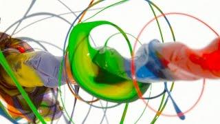 getlinkyoutube.com-Paint Spinning Drill 4K - The Slow Mo Guys
