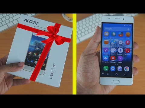 مراجعة وهدية لكم Accent Pearl A5