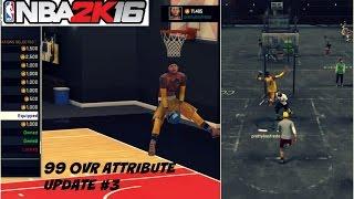 getlinkyoutube.com-NBA 2K16  99 OVR PG ATTRIBUTE UPDATE   Best Signature Styles #3 - Prettyboyfredo
