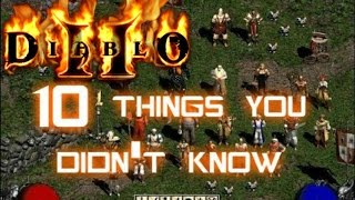 getlinkyoutube.com-10 Things You Didn't Know About Diablo 2