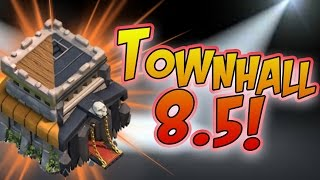 """Clash of Clans: """"Townhall 8.5 Upgrade Strategy!"""" 