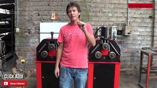 getlinkyoutube.com-Curvadora de tubos MC200 y MC200H - Nargesa - Lima - Peru