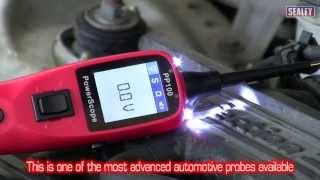 getlinkyoutube.com-Sealey PP100 Automotive Test Probe & Scope
