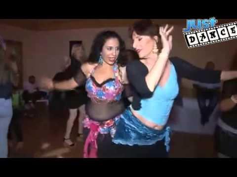 رقص بنات اسرائيل حفلة راس السنه 2015