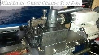 getlinkyoutube.com-Mini lathe QUICK CHANGE TOOL POST