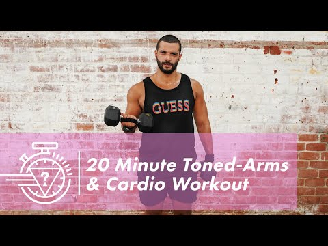 20 Minute Toned-Arms & Cardio Workout with Donald Romain