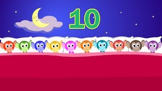getlinkyoutube.com-Ten In The Bed Nursery Rhyme with Lyrics