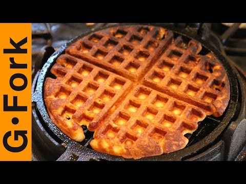 How To Make Homemade Waffles - GardenFork