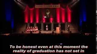 getlinkyoutube.com-Suzuka Nakamoto Graduation Speech 2012 (pre-release)