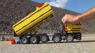 getlinkyoutube.com-Dump Truck 10x4 in Technic Lego (HD video)