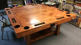 getlinkyoutube.com-DIY Gaming Table for $150