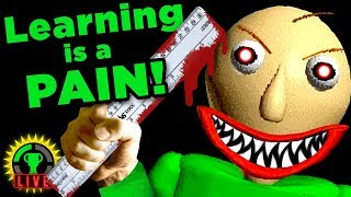 MY TEACHER IS CRAZY!! | Baldi's Basics in Education and Learning (Horror Game)