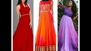 floor length anarkali suits and long frocks
