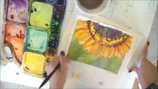 getlinkyoutube.com-6 Ways to Improve Your Watercolor Paintings: What NOT to do