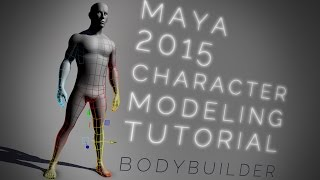 getlinkyoutube.com-Maya bodybuilder CHARACTER MODELING tutorial