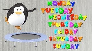 getlinkyoutube.com-Days of the Week Sing-along Song