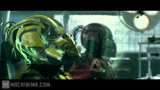 getlinkyoutube.com-Mortal Kombat: Legacy: Cyrax and Sektor Skrillex Reptile Theme