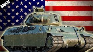 getlinkyoutube.com-War Thunder's NEW American Muscle!  (War Thunder 1.67 T-14)
