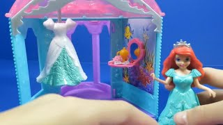 Disney Magiclip Ariel's Flip n Switch Castle Playset Review - Magic Clip Princess Little Mermaid