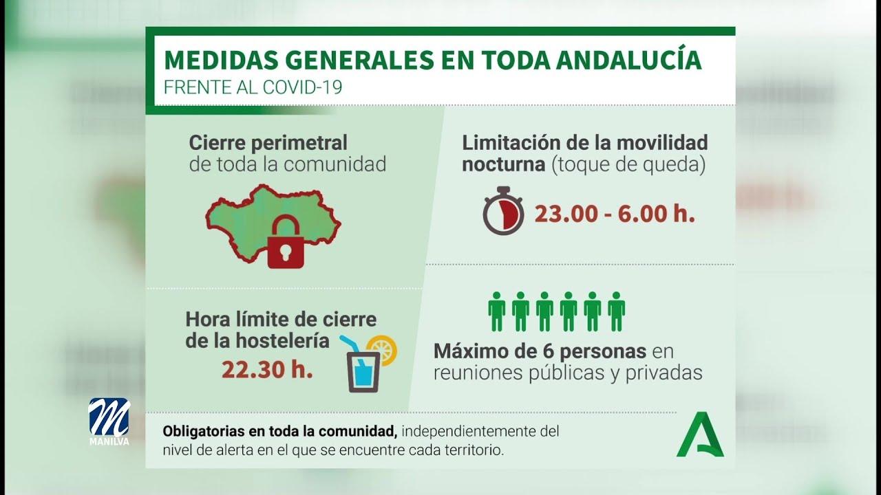 Ya se aplican las nuevas restricciones en Andalucía