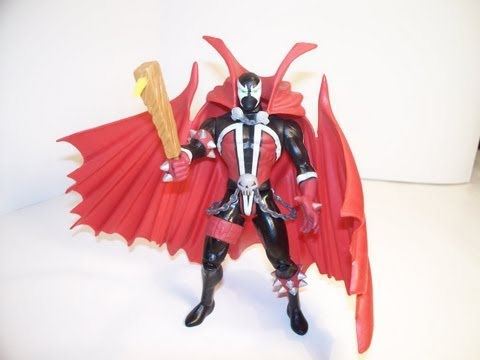 McFARLANE TOY'S 1994 SERIES 1 SPAWN ACTION FIGURE TOY REVIEW