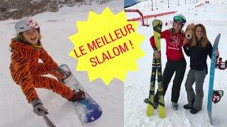 getlinkyoutube.com-Les nanas font du Ski ! Avec Laury Thilleman