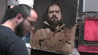 getlinkyoutube.com-Painting Portrait - Alla Prima - Sean Cheetham