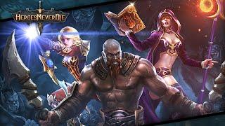 getlinkyoutube.com-Heroes Never Die Gameplay IOS / Android