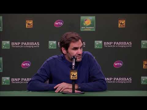 BNP Paribas Open 2018: Roger Federer on the Williams Sisters