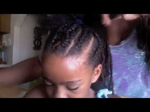 Tutorial/How to French Braid Natural Hair