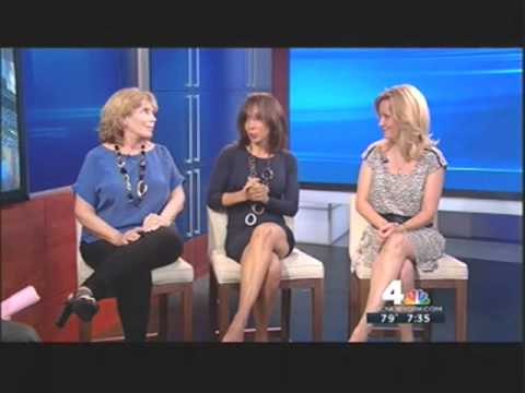 Lynne White 6/27/12 THIGHS!! Power Panel, New York Nightly News