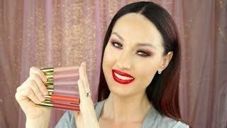 getlinkyoutube.com-Gerard Cosmetics Hydra Matte Liquid Lipsticks | Lip Swatch Video