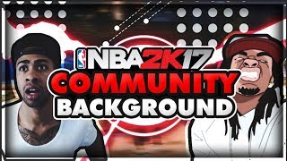 IS THE NBA 2K COMMUNITY BACKGROUND AIDS?!? I LEFT MAGURK CLAN TBE!!
