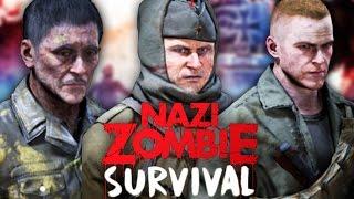 getlinkyoutube.com-CLASSIC NAZI ZOMBIES IN BLACK OPS 3 ZOMBIES! - CALL OF DUTY CUSTOM ZOMBIES GAMEPLAY! (BO3 Zombies)
