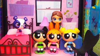 getlinkyoutube.com-Powerpuff Girls Find Missing LPS Pets - Littlest Pet Shop and PPG Toys Review by Stories With Dolls