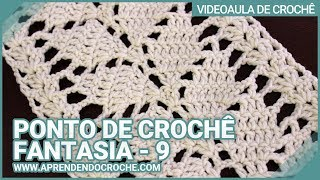 getlinkyoutube.com-Ponto de Crochê Fantasia - 9 - Aprendendo Croche