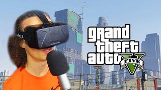 getlinkyoutube.com-GTA 5 IN VIRTUAL REALITY (GTA 5 Oculus Rift)