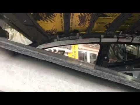 ШВИ крыши машины. Борьба с воздушной звуковой волной, которая гуляет под обшивкой потолка