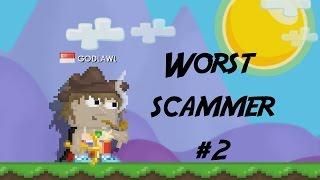 getlinkyoutube.com-Growtopia| Worst Scammer EVER #2