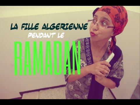 La Fille Algérienne en Ramadan الفتاة الجزائرية في رمضان #Miss_Cha