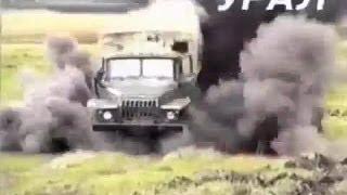 getlinkyoutube.com-KAMAZ, URAL AND 6.5KG OF EXPLOSIVE! RUSSIAN MILITARY CRASH TEST!