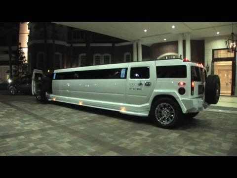 Back to the Future Hummer Limo video tour