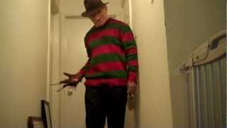 getlinkyoutube.com-Horror costume collection: Freddy Krueger of ANOES 3 Dream Warriors: Test #5