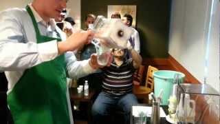 getlinkyoutube.com-StarBucks Strawberry & Cream frapuccino