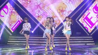 getlinkyoutube.com-BESTie(베스티) 두근두근 쇼챔피언 70회 / Pitapat / ベスティ ドキドキ
