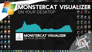 getlinkyoutube.com-Monstercat Visualizer On Desktop - Rainmeter (Windows)