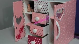 getlinkyoutube.com-organizador para implementos de manicure hecho de cartón