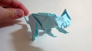 getlinkyoutube.com-Origami Cat - Gato de origami